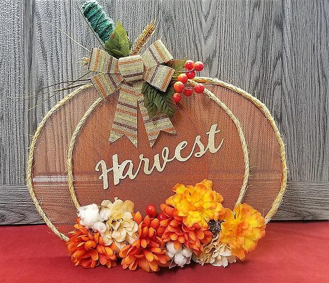 Harvest Pumpkin Decor