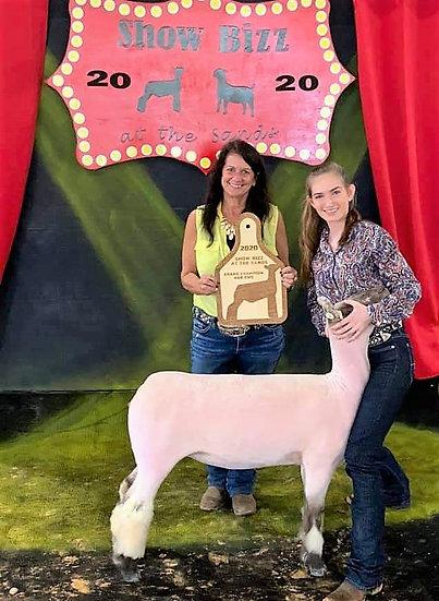 Any Species Jumbo Layer Ear Tag Livestock Award
