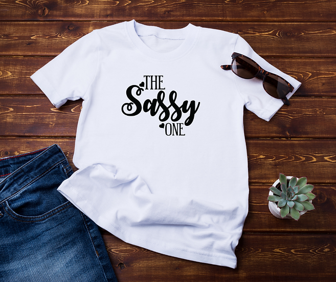 The Sassy One - Adult and Youth Unisex T-Shirt