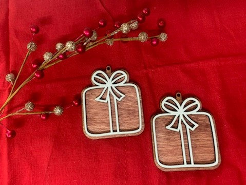 Gingerbread Cookie Christmas Gift Wooden Ornament