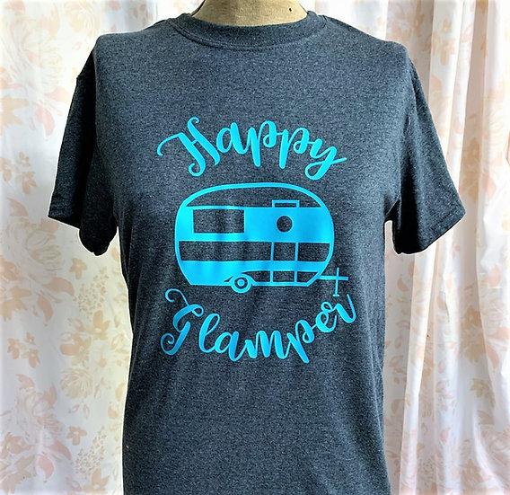Happy Glamper Adult T-Shirt