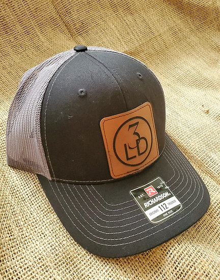 Promotional Custom Engraved Leatherette Patch Snap Back Hats