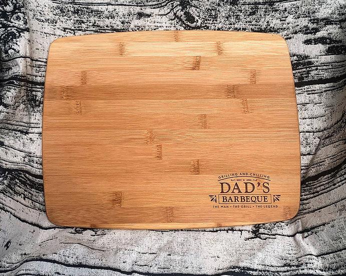 Cutting Board Grill Master Dad