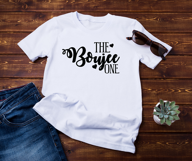The Boujee One - Adult and Youth Unisex T-Shirt