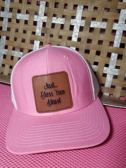 Just Bless Your Heart Snap Back Trucker Hat