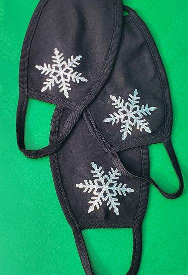Holiday Winter Seasonal Face Covering Masks