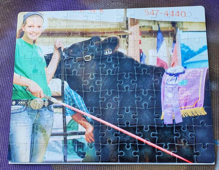 Custom Picture Puzzle 8x10  99 Piece