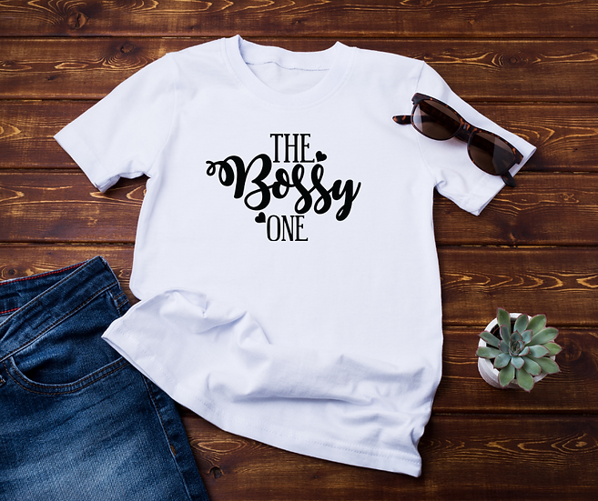 The Bossy One - Adult and Youth Unisex T-Shirt