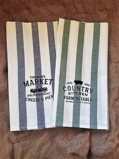 Farmhouse Design Kitchen Towels