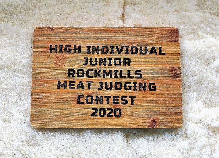 Small Cutting Board Award