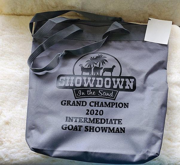 Custom Award Canvas Zipper Bag