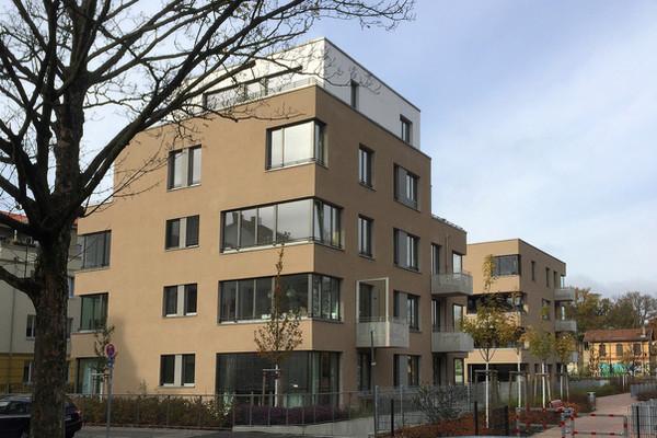 Ansicht Curtiusstrasse 16, 16a