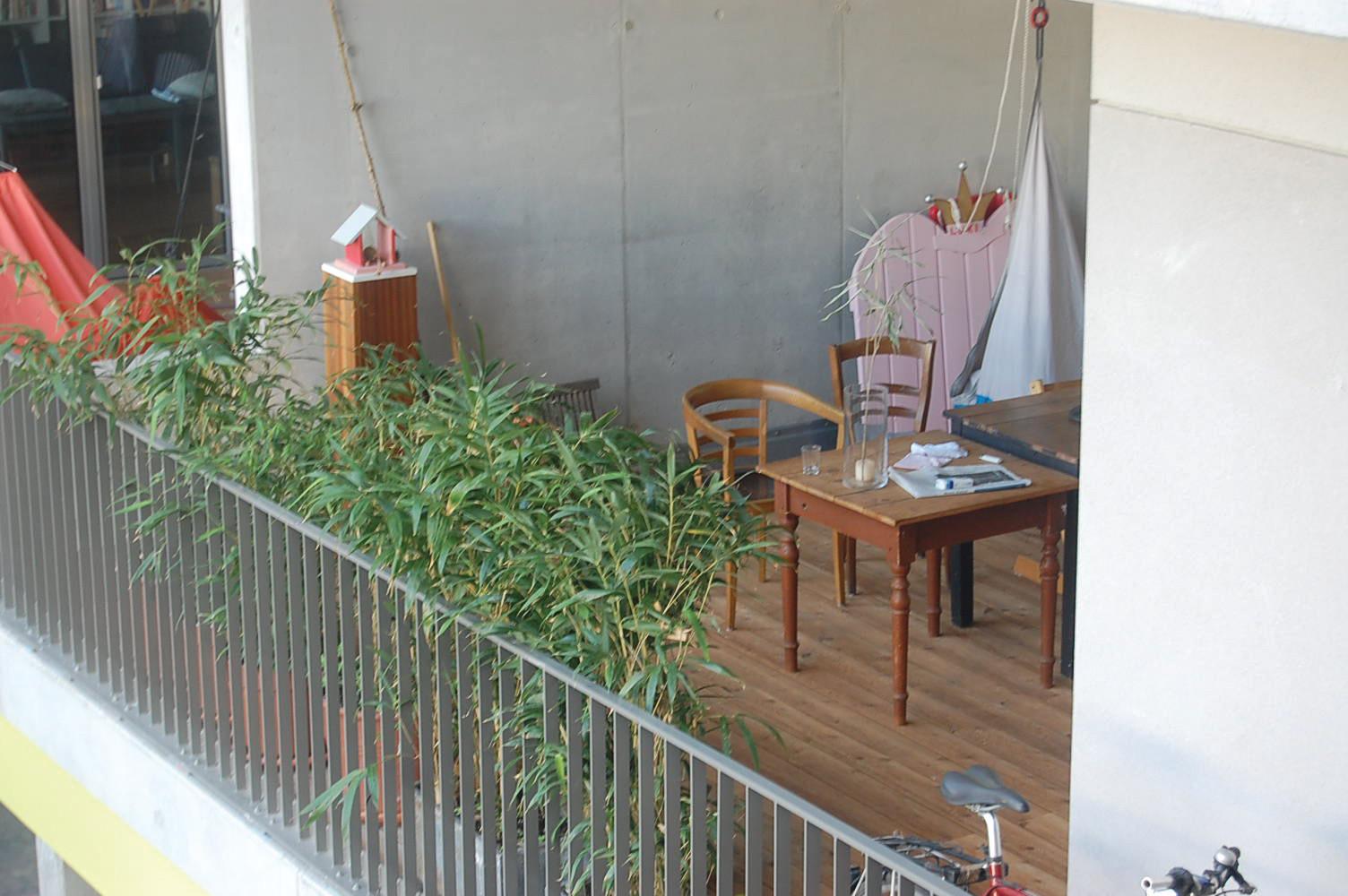 Loggia als Freiluft-Zimmer