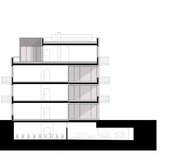 Gebäudeschnitt 2