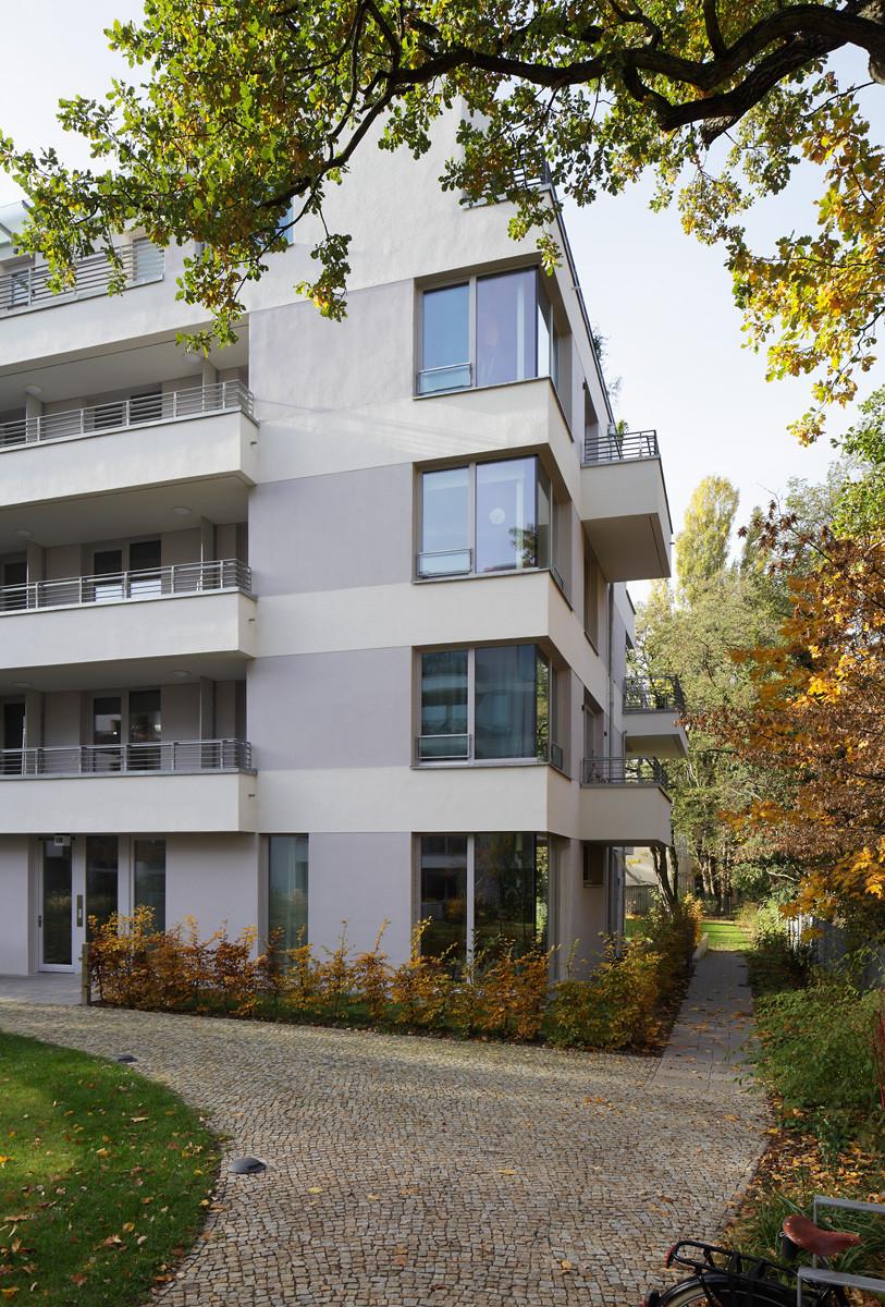 Ecksituation Gartenhaus