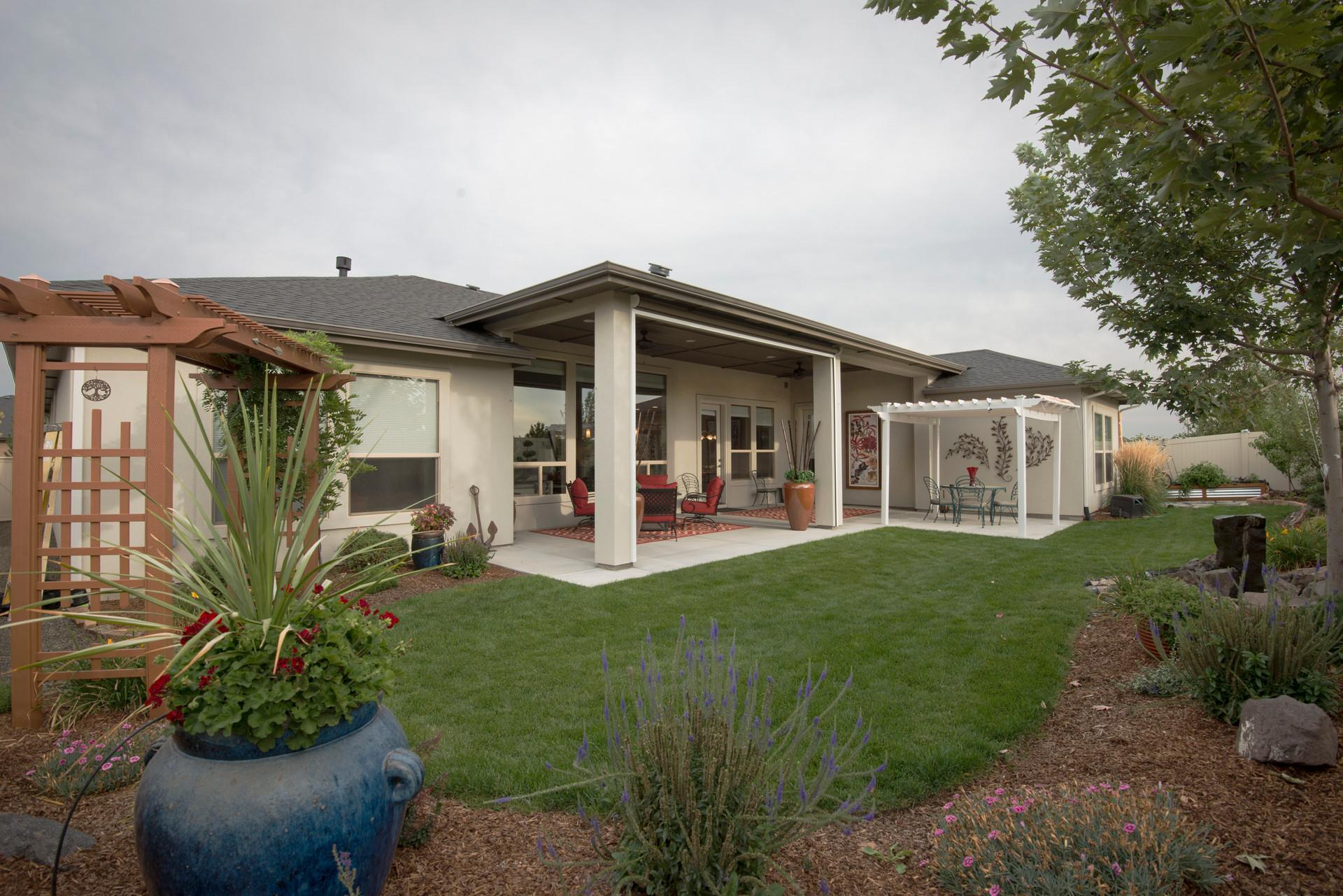 Backyard Real Estate Photo