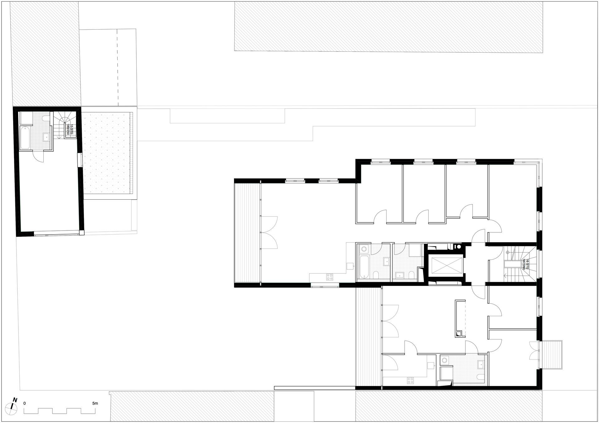 Obergeschoss Grundriss