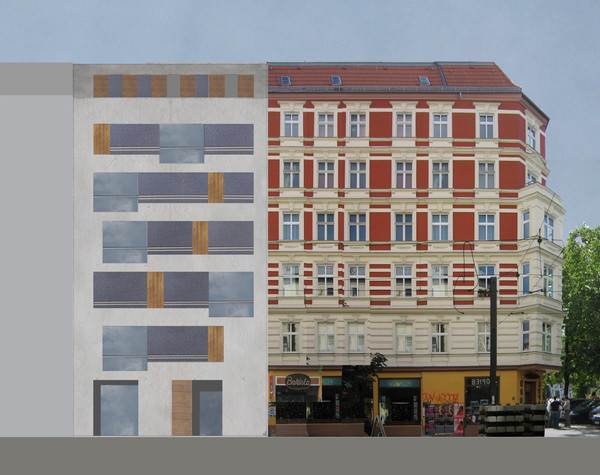 Fassadenvariante