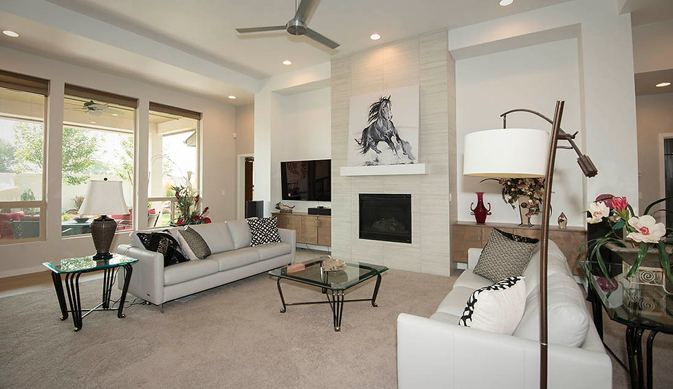 Great room photo by stricklandphotoarts
