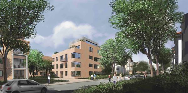 Visualisierung Curtiusstraße