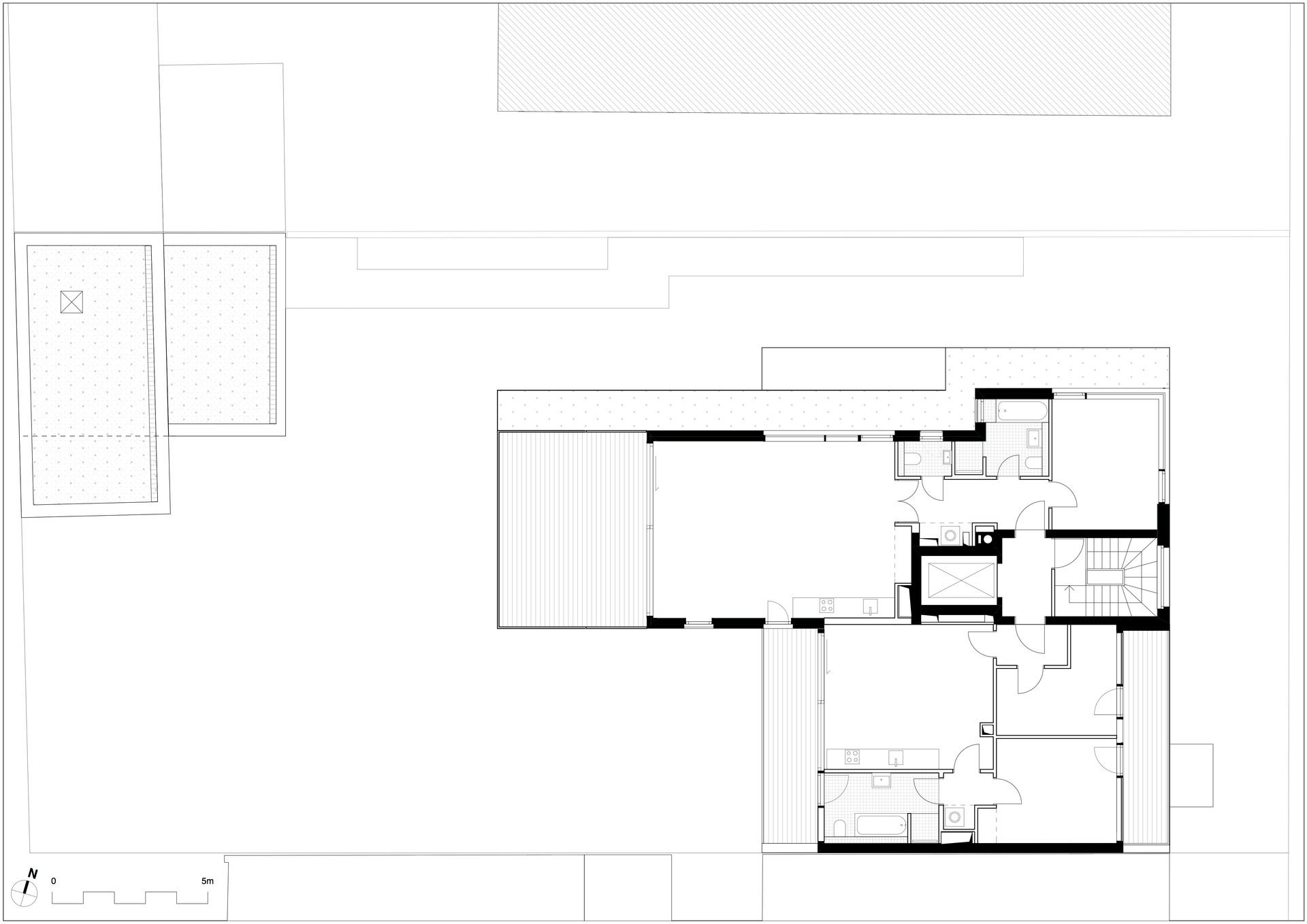 Dachgeschoss - Grundriss