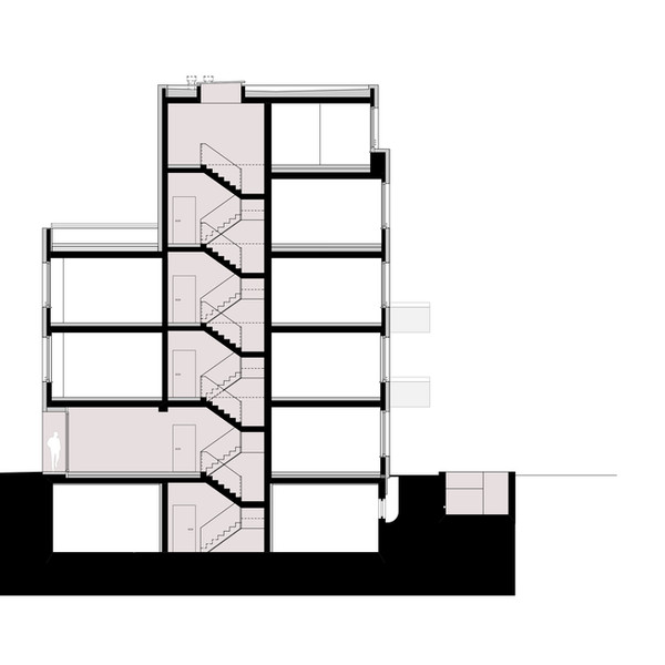 Gebäudeschnitt 1