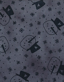 Snowman Gatherings blue snowmen