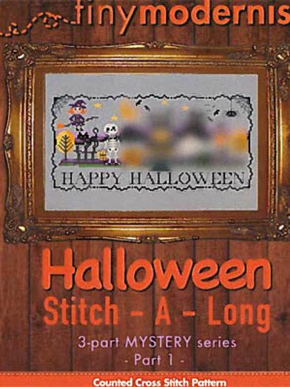 Halloween Stitchalong Part 1