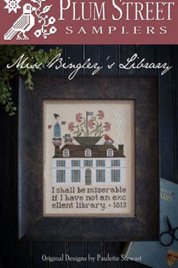 MIss Bingley's Library