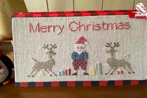 Santa and Friends PDF downloadable pattern