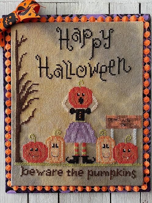 Beware the Pumpkins PDF Downloadable pattern