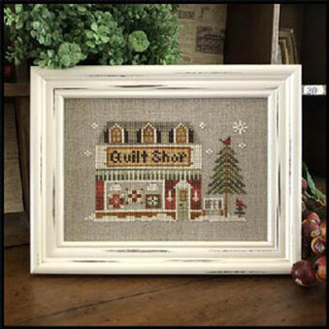 Hometown Holiday Series Quilt Shop