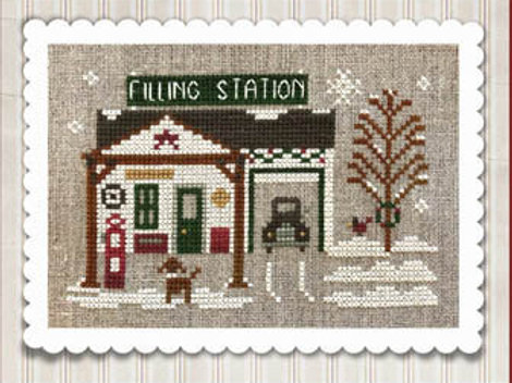 Hometown Holiday Series Pop's Filling Station