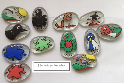 Aboriginal Story Stones How birds got their colour