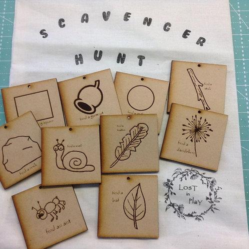 Scavenger Hunt set