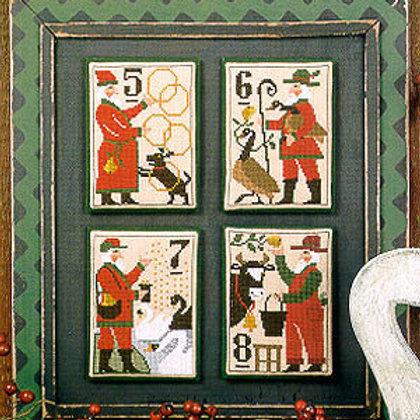 Santa's 12 Days 5-8