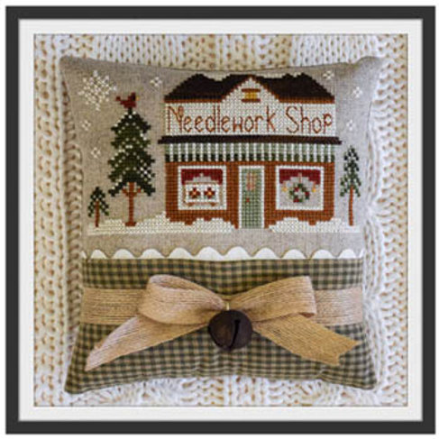 Hometown Holiday Series Needlework Store
