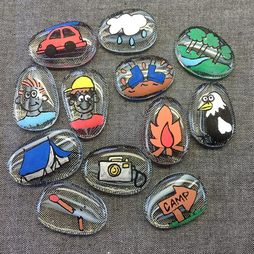 Story Stones Camping Tales