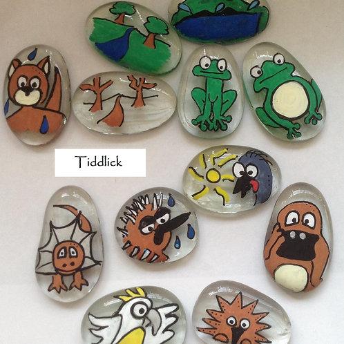 Aboriginal Story Stones Tiddalick the frog