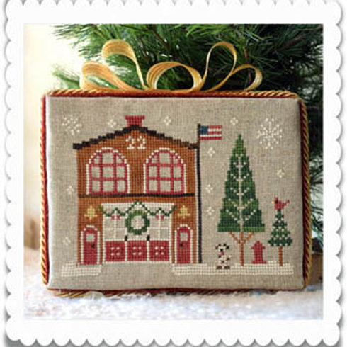 Hometown Holiday Series Firehouse