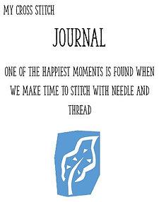 My Cross Stitch Journal PDF