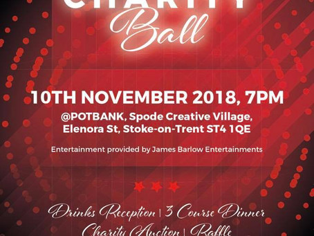 Charity Ball - Stoke on Trent