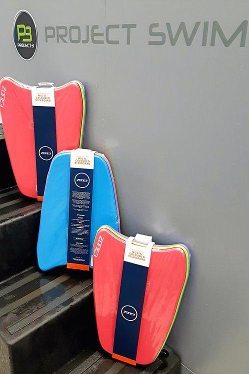 Zone 3 Multi Coloured Kickboard