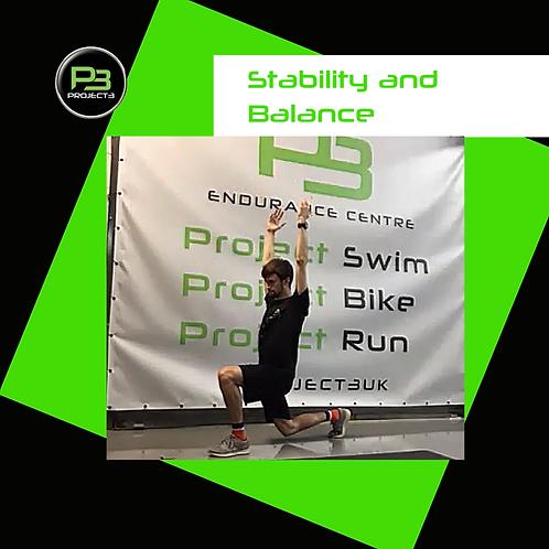 Stability + Balance 09.09.20