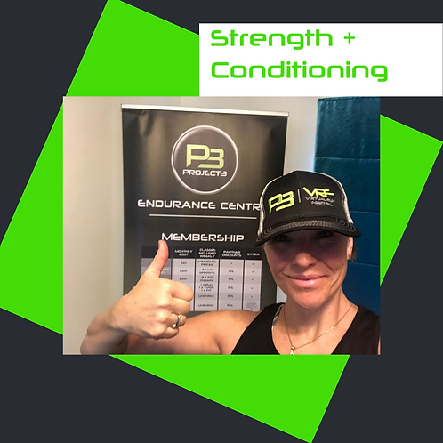 Strength + Conditioning 08.09.20