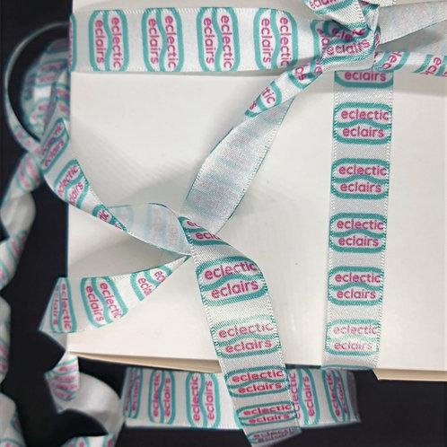 Gift tag and ribbon