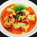 红油抄手spicy wonton soup