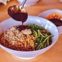 鸡丝凉面hand pulled chicken noodle salad