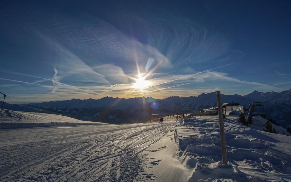 Skifahren im Skigebiet Zillertal 3000