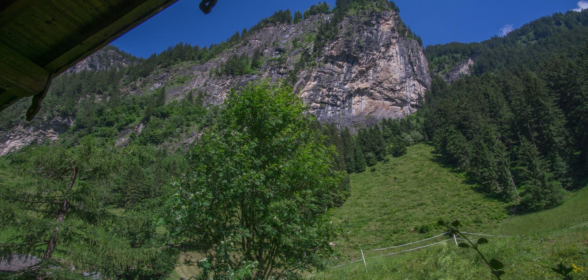 Bergblick vom Balkon